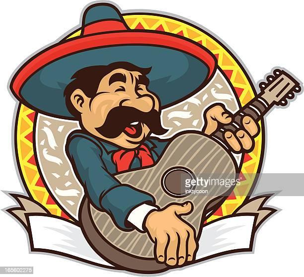 ilustrações de stock, clip art, desenhos animados e ícones de música mariachi - mariachi