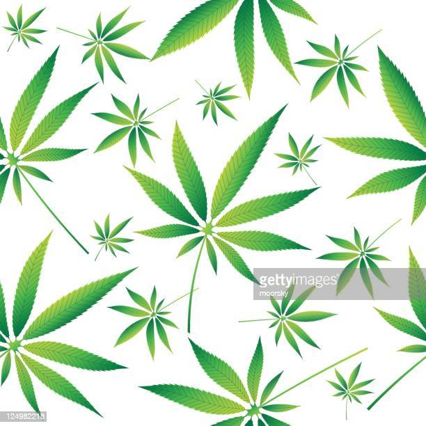 marihuana シームレスなパターンベクトル壁紙 - 合法化点のイラスト素材/クリップアート素材/マンガ素材/アイコン素材