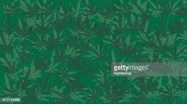 Marijuana Leaf Background