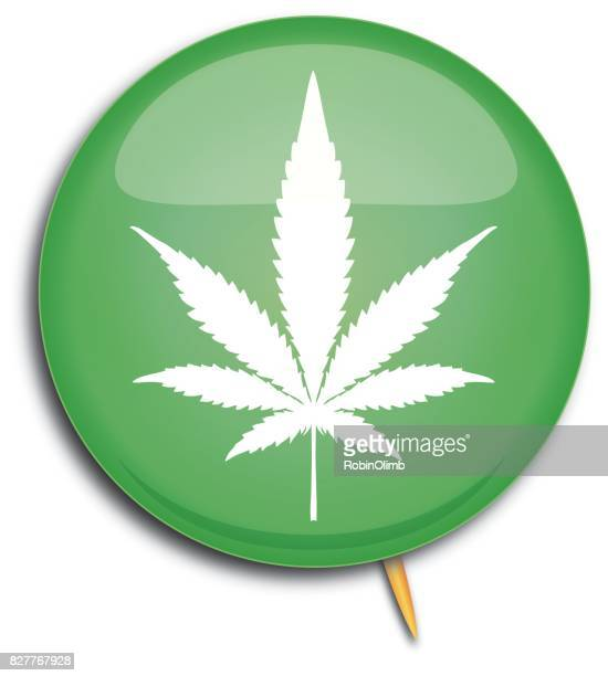 marijuana pin - hashish stock illustrations, clip art, cartoons, & icons