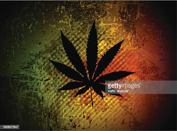 marijuana - recreational drug stock illustrations, clip art, cartoons, & icons