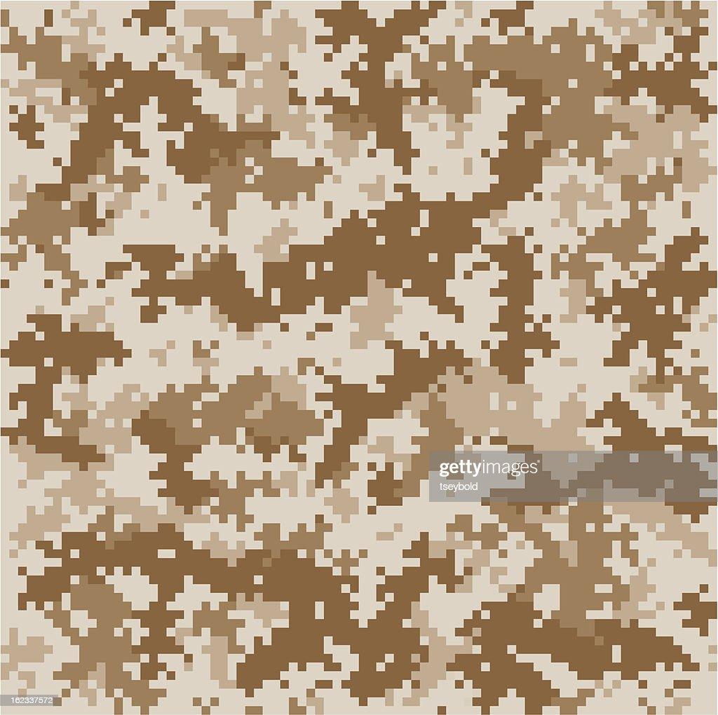 Marine Pixelated Camo