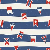 Maritime Signal Flags Pattern