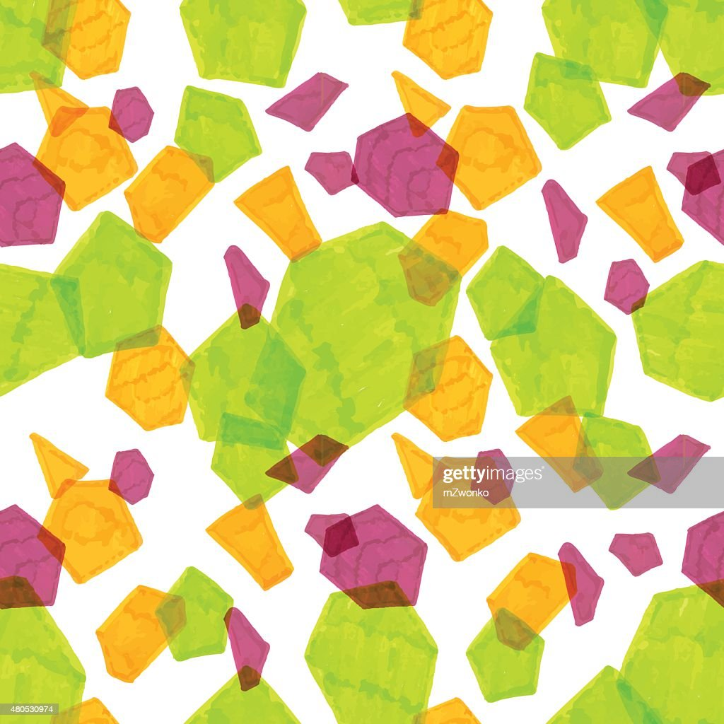 マーカー多角形のパターン : ベクトルアート