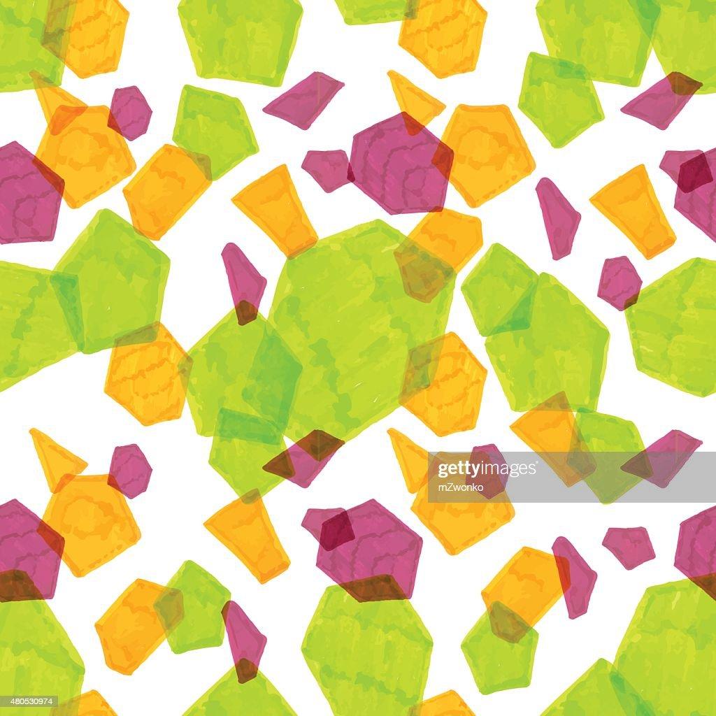 Marker polygonal pattern : Vectorkunst