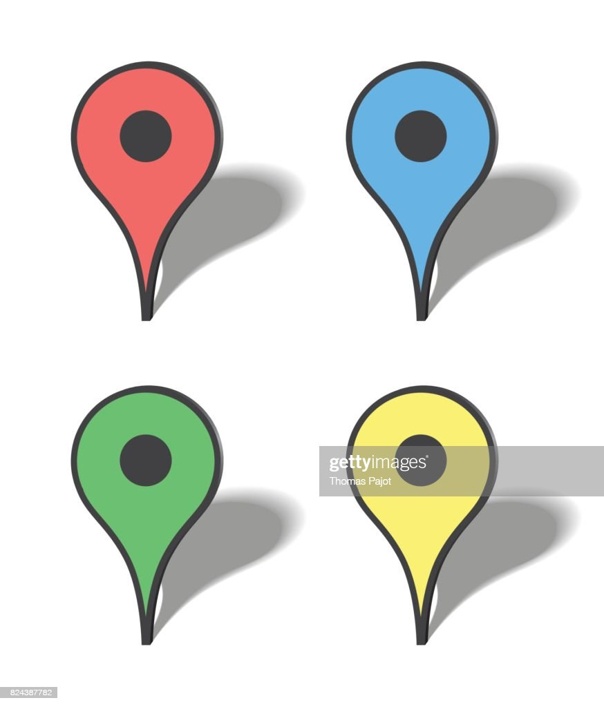 Markers map icons