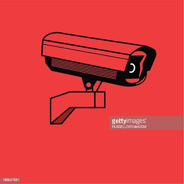 market research cctv - big brother orwellian concept stock illustrations, clip art, cartoons, & icons