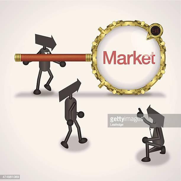 ilustrações de stock, clip art, desenhos animados e ícones de de mercado - nicho