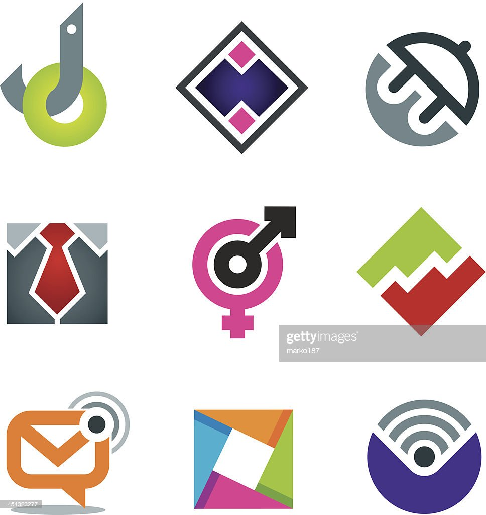 Marketing and business internet vector icon design