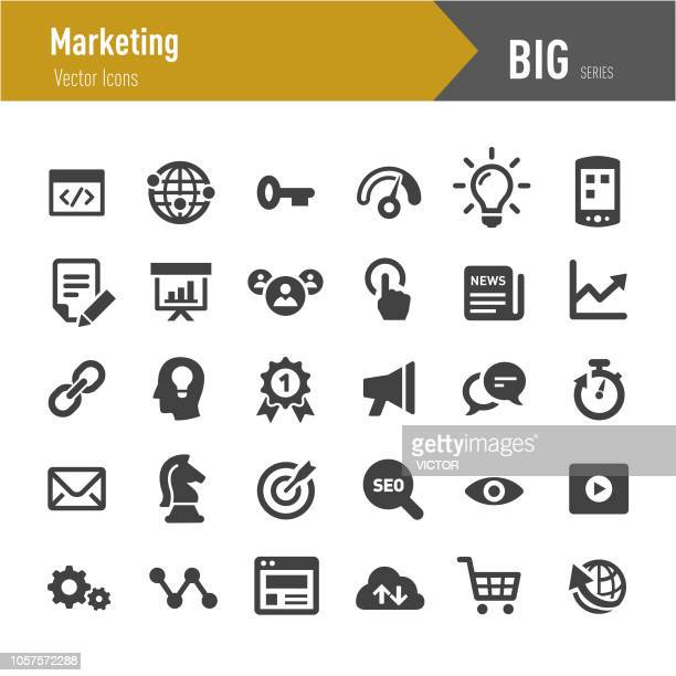 Marketing Icons - Big Series