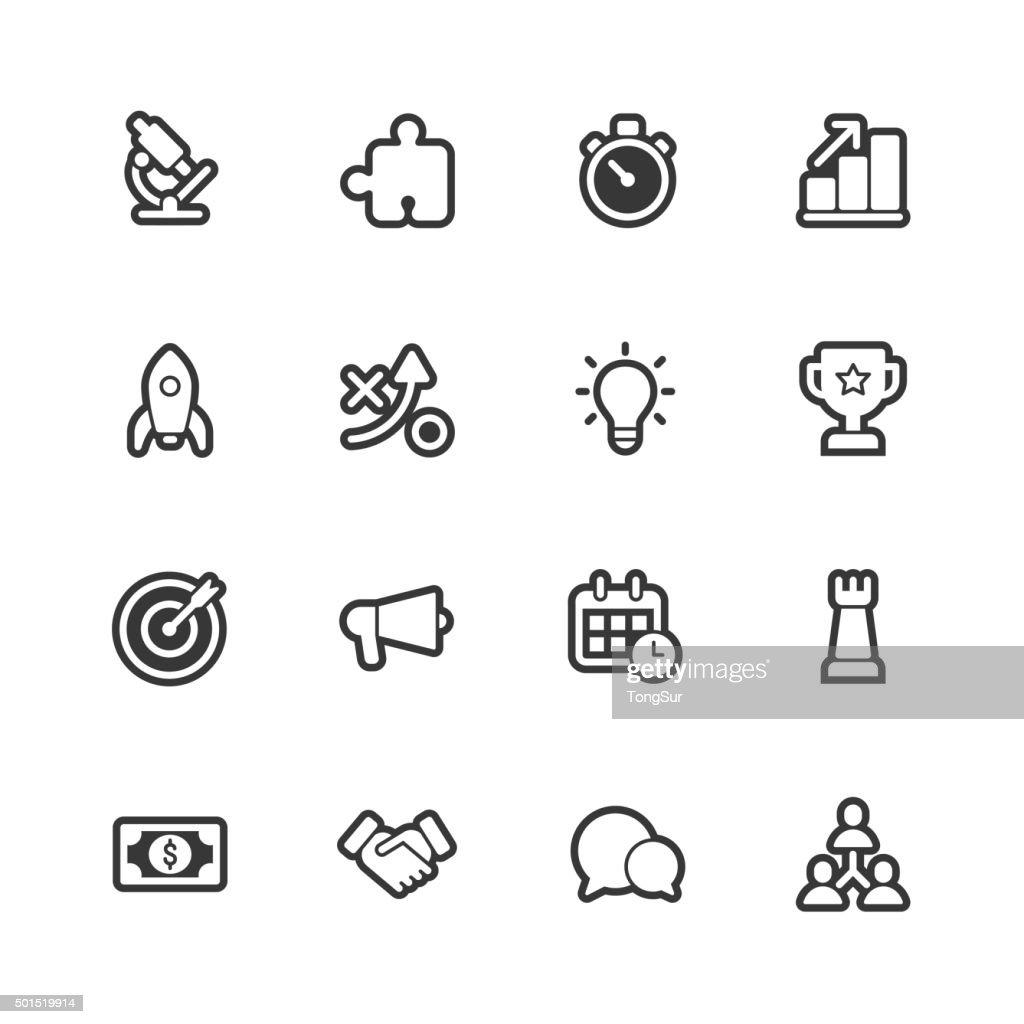 Marketing icons - Regular Outline