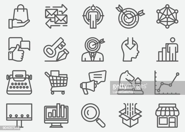 Marketing Line Icons