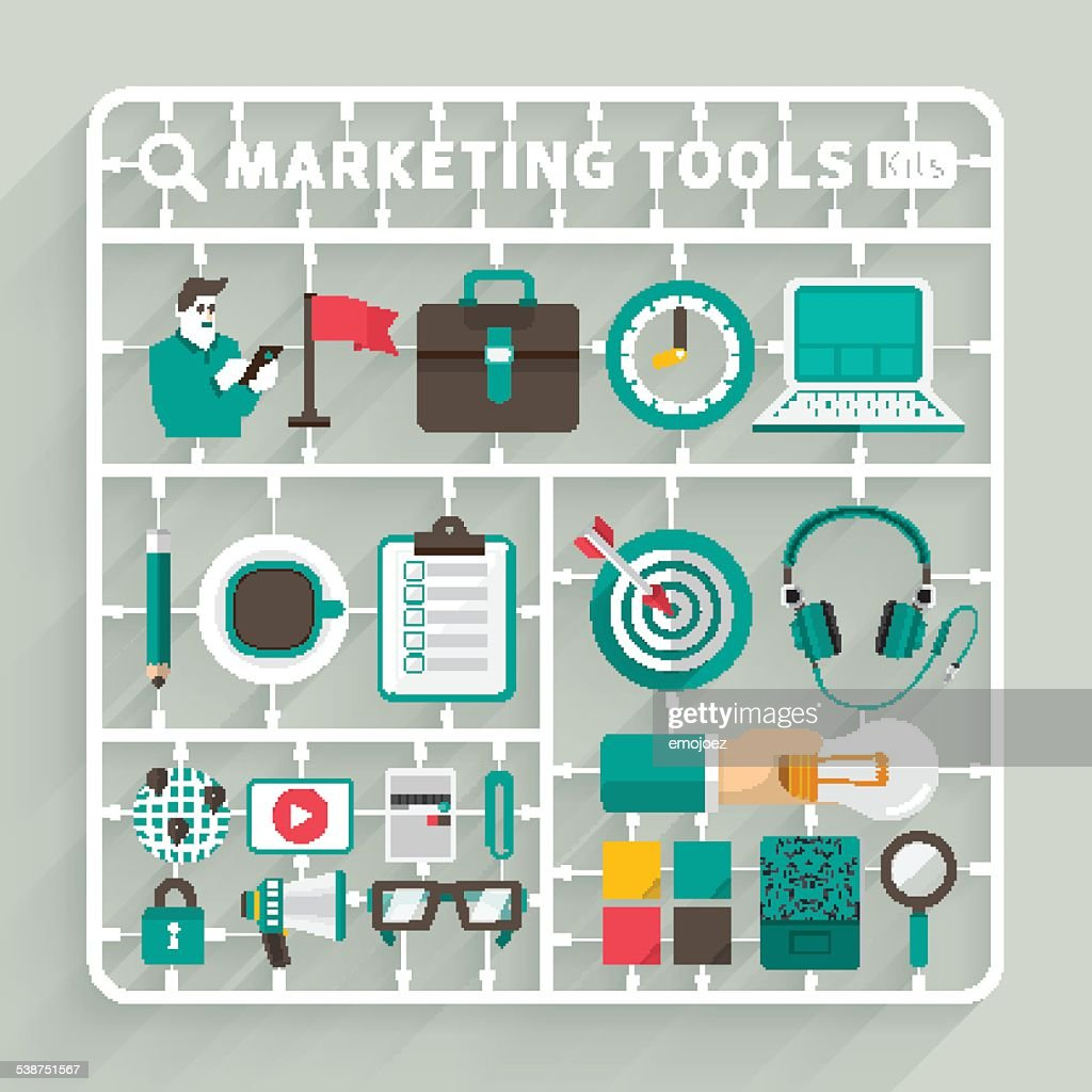 Marketing Tools Model kits