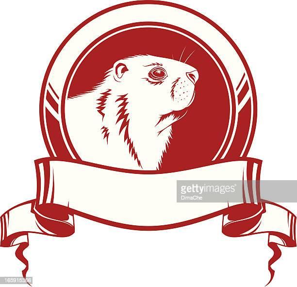 marmot シンボル - 毛穴点のイラスト素材/クリップアート素材/マンガ素材/アイコン素材