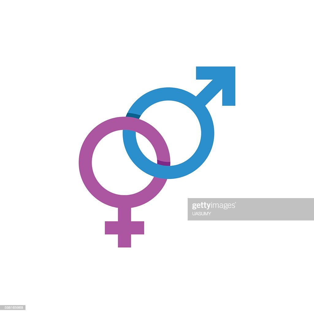 Mars And Venus Signs Male Female Symbol Vector Art Getty Images