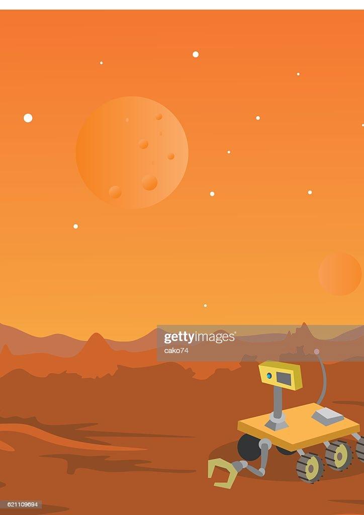 Mars : stock illustration