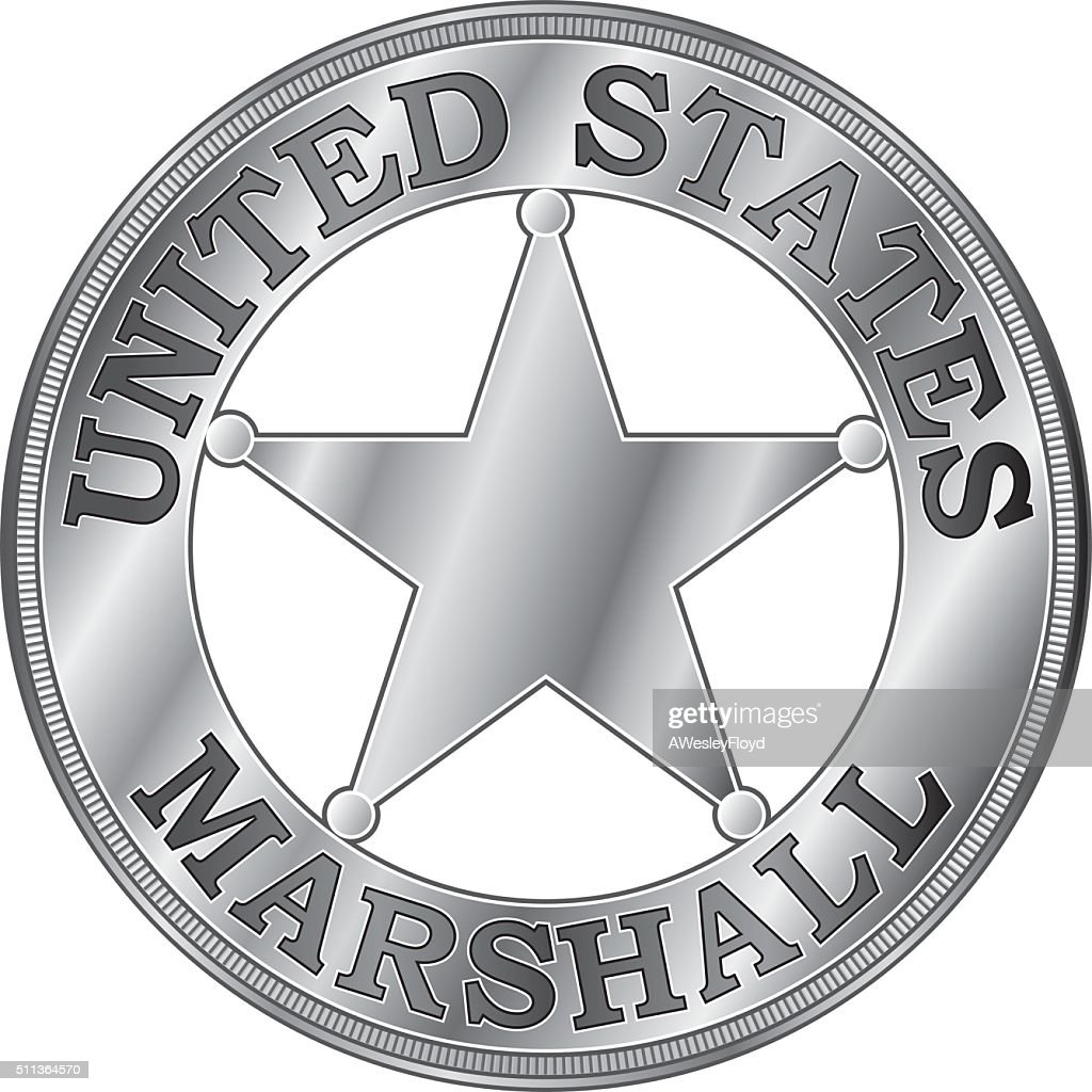 U. S. Marshall Badge