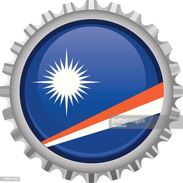 marshall island bottle top - marshall islands stock illustrations, clip art, cartoons, & icons