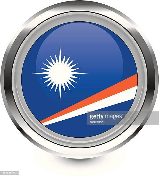marshall islands flag icon - marshall islands stock illustrations, clip art, cartoons, & icons