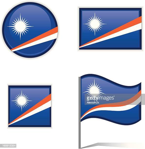 Marshall Islands flags