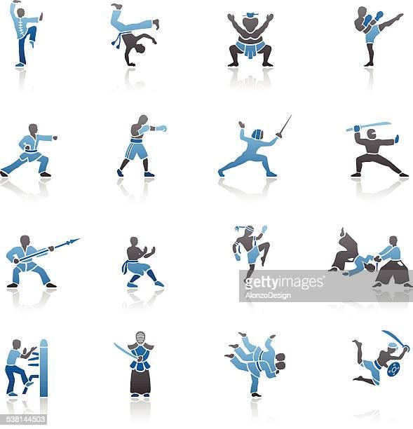 Iconos de artes marciales