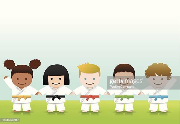 Martial arts: Judo Karate Smile World Kids