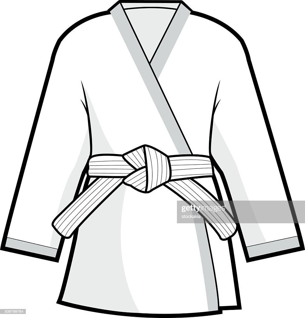 Martial arts kimono jacket