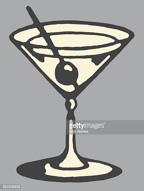 martini - martini stock illustrations