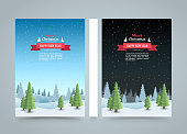 Mary christmas cover art, Happy new year flyer background, template design element