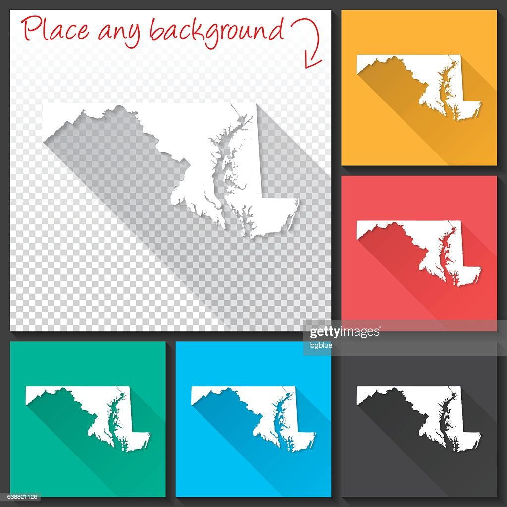 Map Of Maryland Vector Art Getty Images