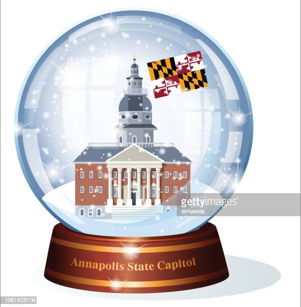 Maryland State House In Annapolis