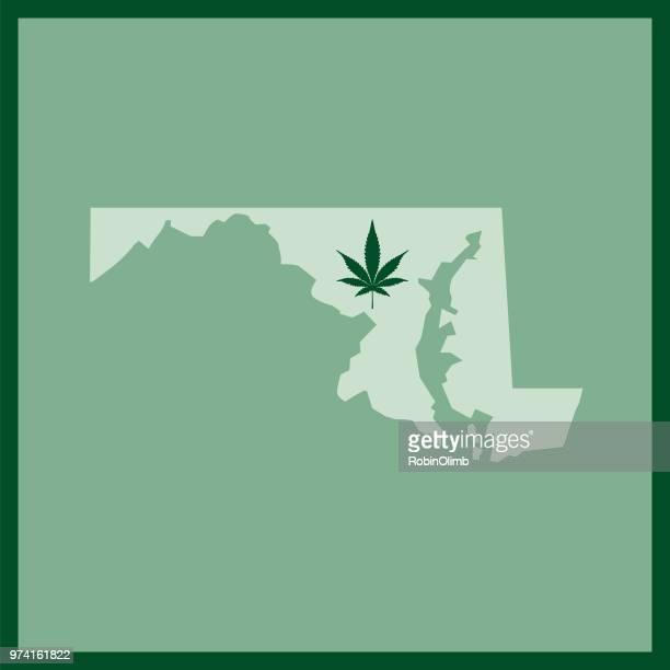 Maryland State Marijuana Map