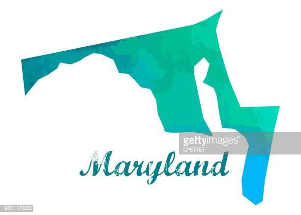 maryland - maryland us state stock illustrations, clip art, cartoons, & icons