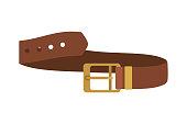 masculine elegant belt icon