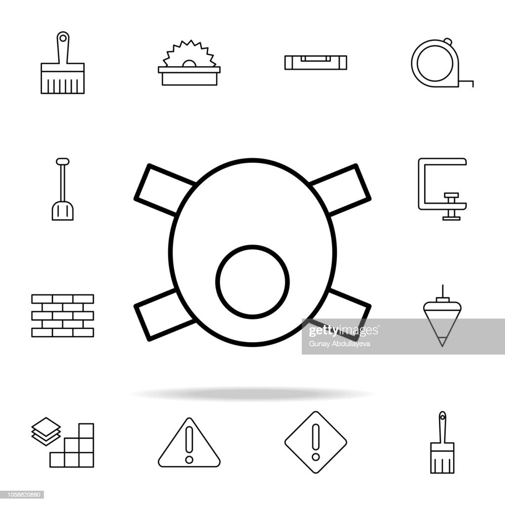 mask icon. construction icons universal set for web and mobile