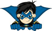 Masked Super Girl Flying