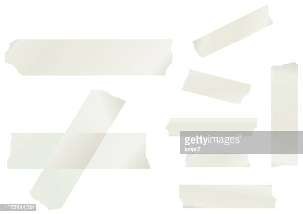 masking tape collection - part of stock illustrations