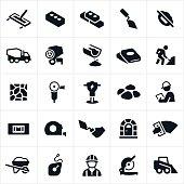 Masonry and Concrete Icons