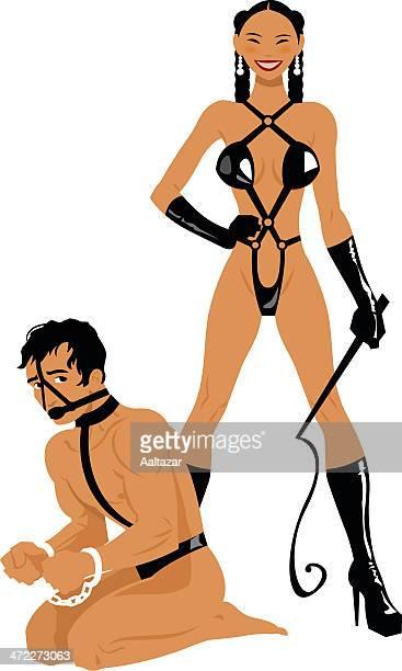 illustrations, cliparts, dessins animés et icônes de masoquist sexe jeux - habillement