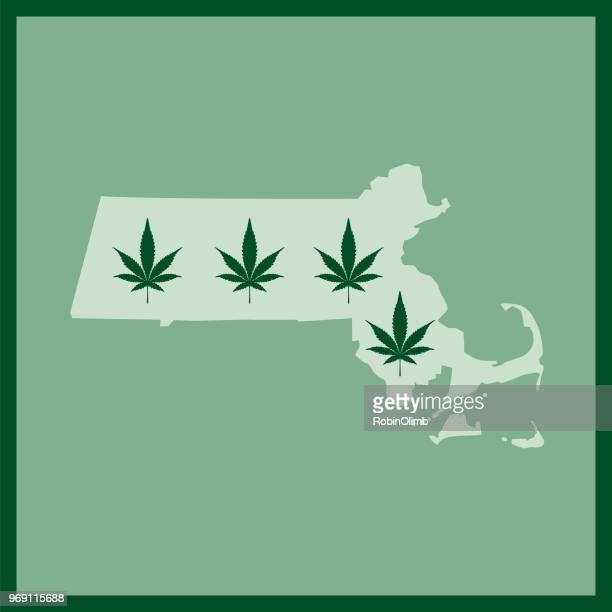 Massachussetts State Marijuana Map
