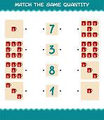 match same quantity mug counting game