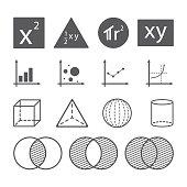 math icon concept