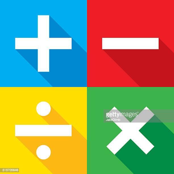 Math icônes Ensemble