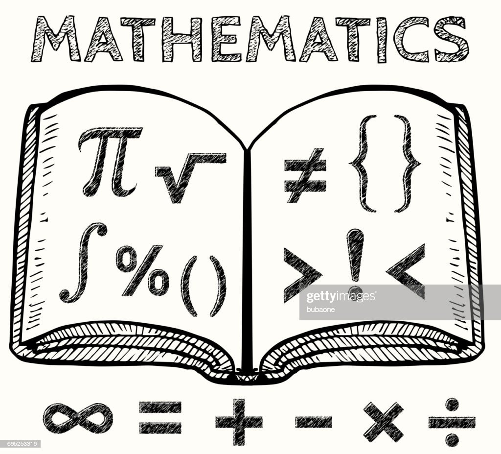 Math symbols with book vector illustration vector art getty images math symbols with book vector illustration vector art publicscrutiny Choice Image