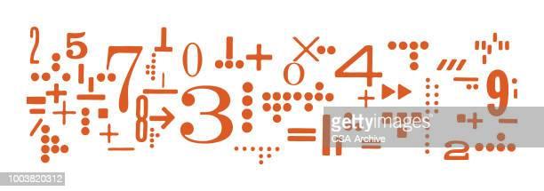 ilustrações de stock, clip art, desenhos animados e ícones de math - matematica