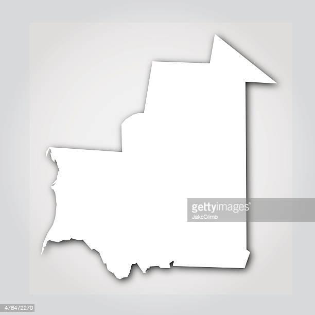 Mauritania Silhouette White