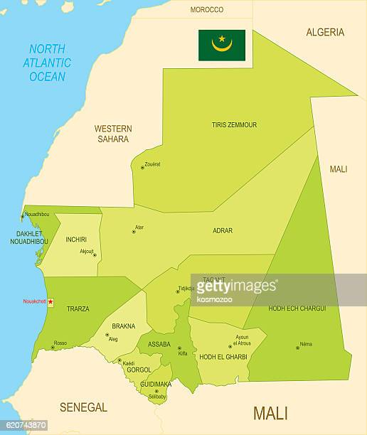 mauritania - mali stock illustrations, clip art, cartoons, & icons
