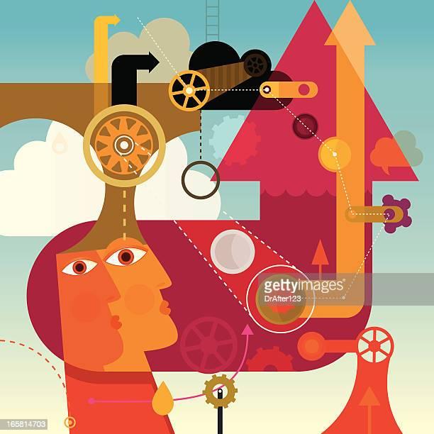 maximum productivity - best in show stock illustrations