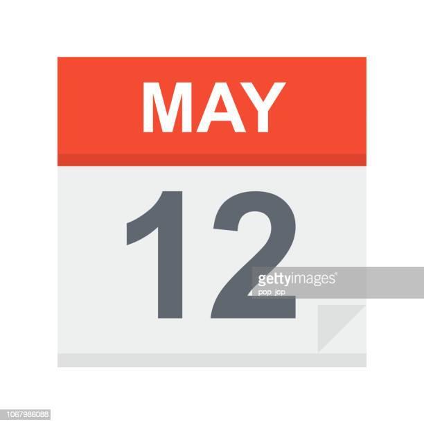 May 12 - Calendar Icon