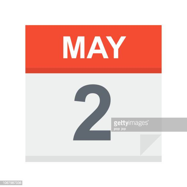 May 2 - Calendar Icon